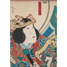Utagawa Hirosada: White Butterfly - Ronin Gallery