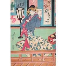 Hokuei: Kabuki Actor Kataoka Tomijuro - Ronin Gallery
