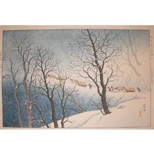 Henmi Takashi: Mount Hakkoda - Ronin Gallery