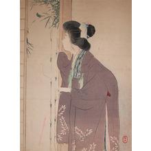 Mizuno Toshikata: Visitor - Ronin Gallery