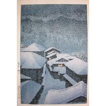 Kawase Hasui: Shiobara in Snowstorm - Ronin Gallery