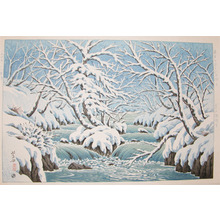 Henmi Takashi: Okuirise in Winter - Ronin Gallery