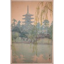 Yoshida Hiroshi: Gardens at Sarusawa Pond - Ronin Gallery