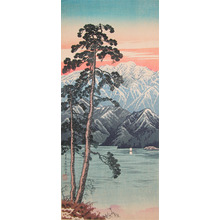 渡辺省亭: Mt. Shirane from Nikko - Ronin Gallery