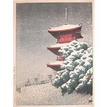 Kawase Hasui: Yasugi Kiyomizu, Izumo - Ronin Gallery