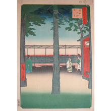 Utagawa Hiroshige: Dawn at Kanda Myojin Shrine - Ronin Gallery