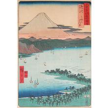 Utagawa Hiroshige: Miho no Matsubara, Suruga - Ronin Gallery