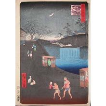 Utagawa Hiroshige: Outside Toranomon Gate - Ronin Gallery