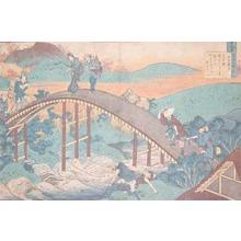 Katsushika Hokusai: Ariwara no Narihira - Ronin Gallery