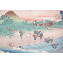 葛飾北斎: Emperor Jito - Ronin Gallery