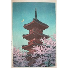 無款: Spring Evening at Toshogu, Ueno - Ronin Gallery