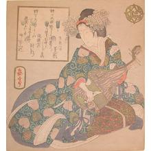 Yashima Gakutei: Goddess Benten - Ronin Gallery