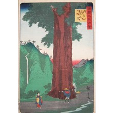Utagawa Hiroshige II: Yatate-sugi in Koshu - Ronin Gallery