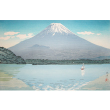 風光礼讃: Lake Shojin - Ronin Gallery