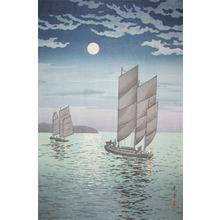 風光礼讃: Off Shore at Shinagawa - Ronin Gallery