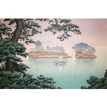 Tsuchiya Koitsu: Spring Rain, Matsushima - Ronin Gallery
