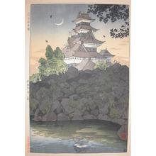 笠松紫浪: Matsumoto Castle, Shinshu - Ronin Gallery