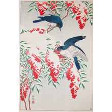 Shoson: Birds in Snow - Ronin Gallery