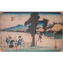 Utagawa Hiroshige: MInakuchi - Ronin Gallery