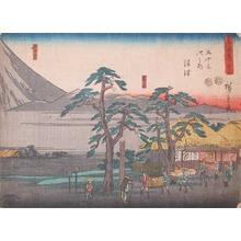 Utagawa Hiroshige: Numazu - Ronin Gallery