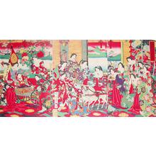 Toyohara Chikanobu: Celebrating the Prince - Ronin Gallery