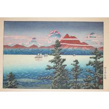 川瀬巴水: Mt Unzen, Hizen - Ronin Gallery