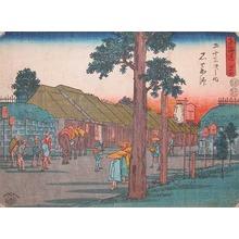Utagawa Hiroshige: Ishiyakushi - Ronin Gallery