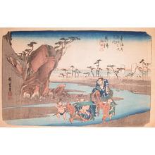 Utagawa Hiroshige: Okitsu - Ronin Gallery