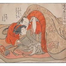 Isoda Koryusai: Under a Futon - Ronin Gallery