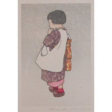 Yoshida Hiroshi: Young Girl - Ronin Gallery