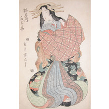 Kikugawa Eizan: A Courtesan from Tsuruya - Ronin Gallery