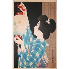 伊東深水: Lantern - Ronin Gallery