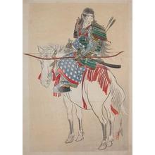 Gekko: Tomoe-Gozen in Armor - Ronin Gallery