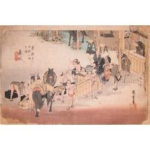 歌川広重: Fujieda - Ronin Gallery