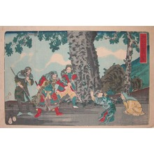 Utagawa Kuniyoshi: Kokaku - Ronin Gallery