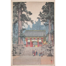 吉田博: Toshogu Shrine - Ronin Gallery