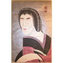 Tsuruya Kokei: Nakamura Jyakuemon as Ginpei's Wife Oryu - Ronin Gallery