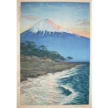 Okada: Mt. Fuji from Hagoromo Beach - Ronin Gallery