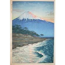 Okada: Mt. Fuji from Hagoromo Beach - Ronin Gallery