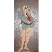 Toshusai Sharaku: Otani Oniji II as Kawashima Jibugoro - Ronin Gallery