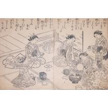 Nishikawa Sukenobu: Wedding Preparations - Ronin Gallery