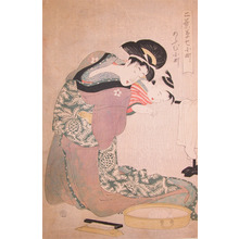 Kitagawa Utamaro: Reflection - Ronin Gallery