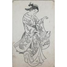 Nishikawa Sukenobu: Dancer - Ronin Gallery