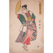 歌川豊国: Kabuki Actor Iwai Hanshiro - Ronin Gallery