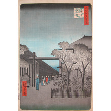 Utagawa Hiroshige: Dawn at the Yoshiwara - Ronin Gallery