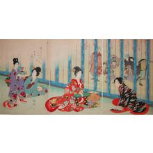 豊原周延: Recreation - Ronin Gallery