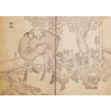 葛飾北斎: Camel - Ronin Gallery