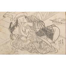 Nishikawa Sukenobu: Shy Girl - Ronin Gallery