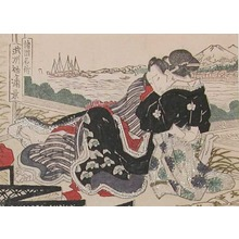Keisai Eisen: Love by Mt Fuji - Ronin Gallery