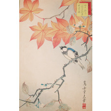 Sugakudo: Tit and Maple Leaves - Ronin Gallery